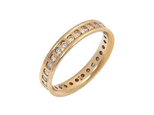 18ct Yellow Gold Diamond Eternity Ring 0.50ct