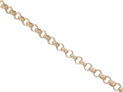 9ct Gold Plain Belcher Chain 11.8g