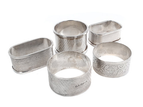 Sterling Silver Napkin Rings