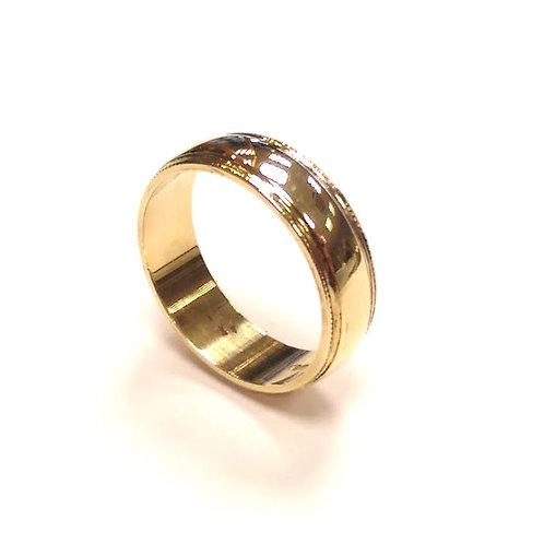 9ct Yellow Gold Wedding Band