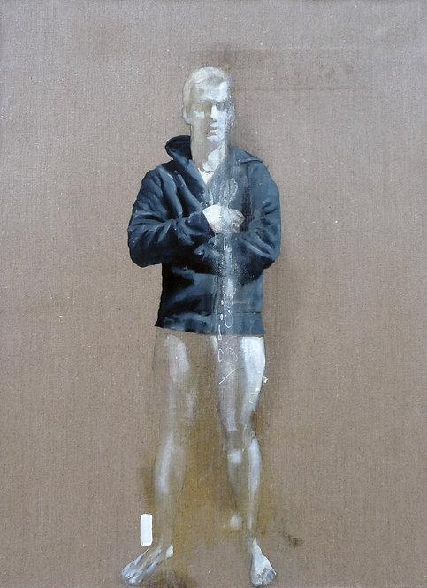 580 INO ONI MATHIEU 2012, Huile sur lin, 73x54