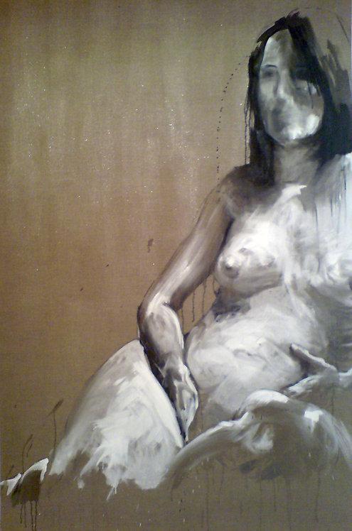 388 PEINTOMATON 2007, Huile sur toile, 200x125