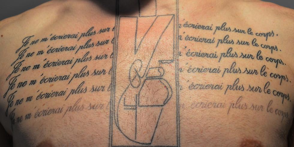 Expérimentation de la rencontre tatouée.