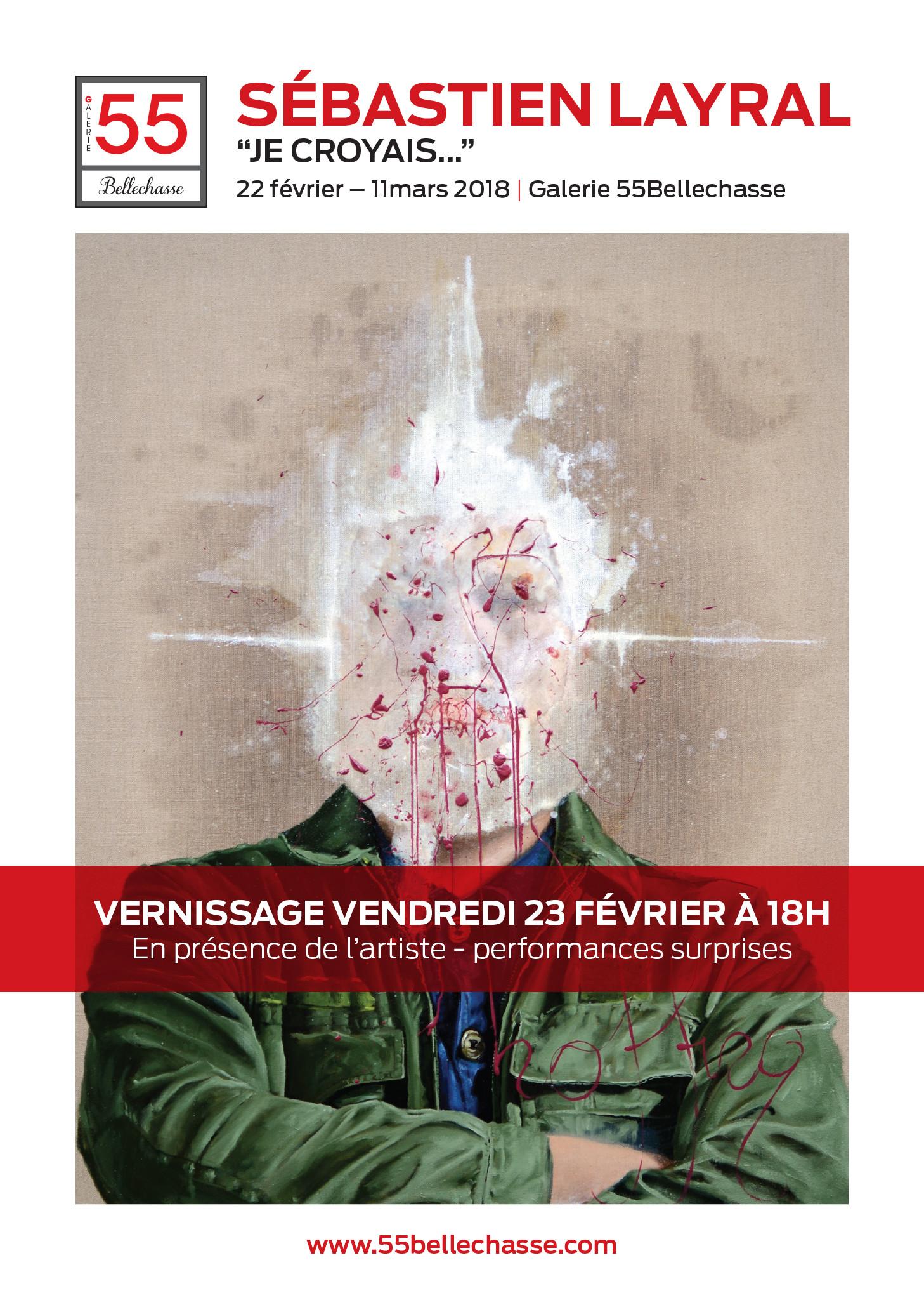 2018 Paris, Galerie 55 Bellechassee