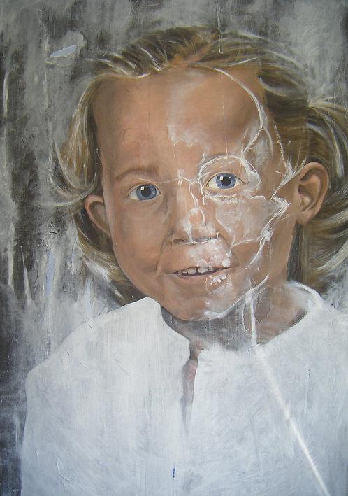 397 PEINTURE 2008, Huine sur lin, 200x125