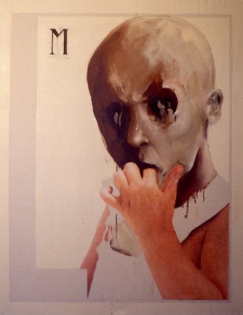 157 PEINTURE 1999, Huile sur toile, 125x100
