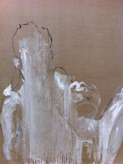 499 PEINTOMATON 2011, Huile sur toile, 125x100