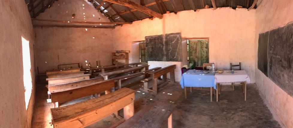Ecole et cantine d'Andina