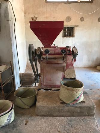 Ecorceuse de riz offert par FA.ZA.SO.MA.à Fianarandsoa