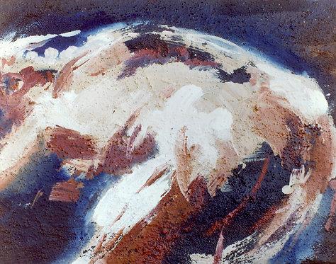 69 PEINTURE 1997, Huile sur toile, 35x27