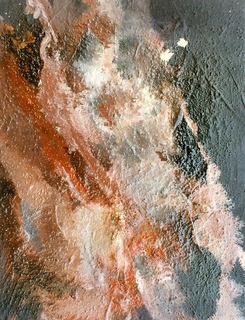 68 PEINTURE 1997, Huile sur toile, 35x27