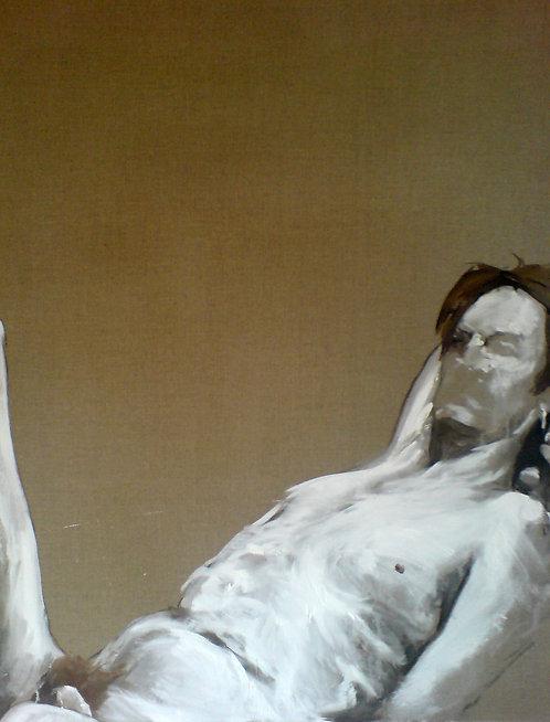 387 PEINTOMATON 2007, Huile sur toile, 125x100