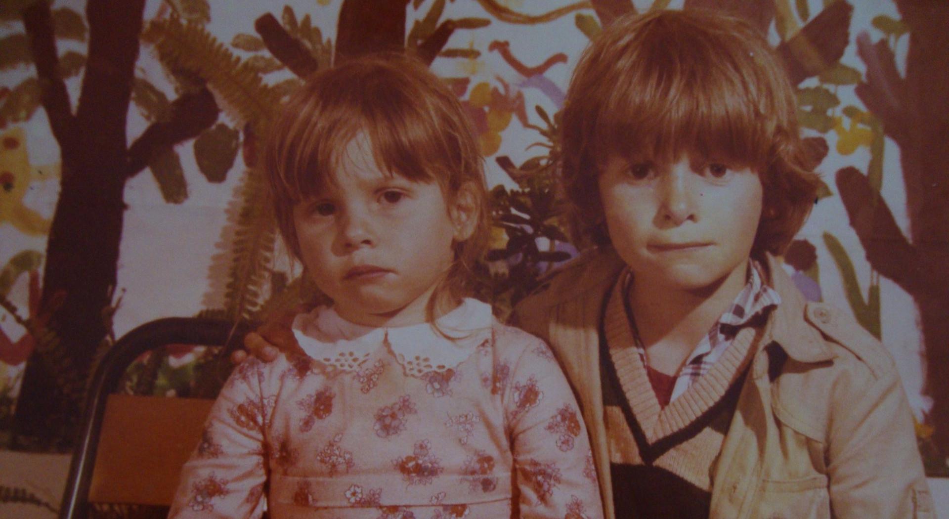 1978 LA PRIMAUBE, ma soeur et moi.