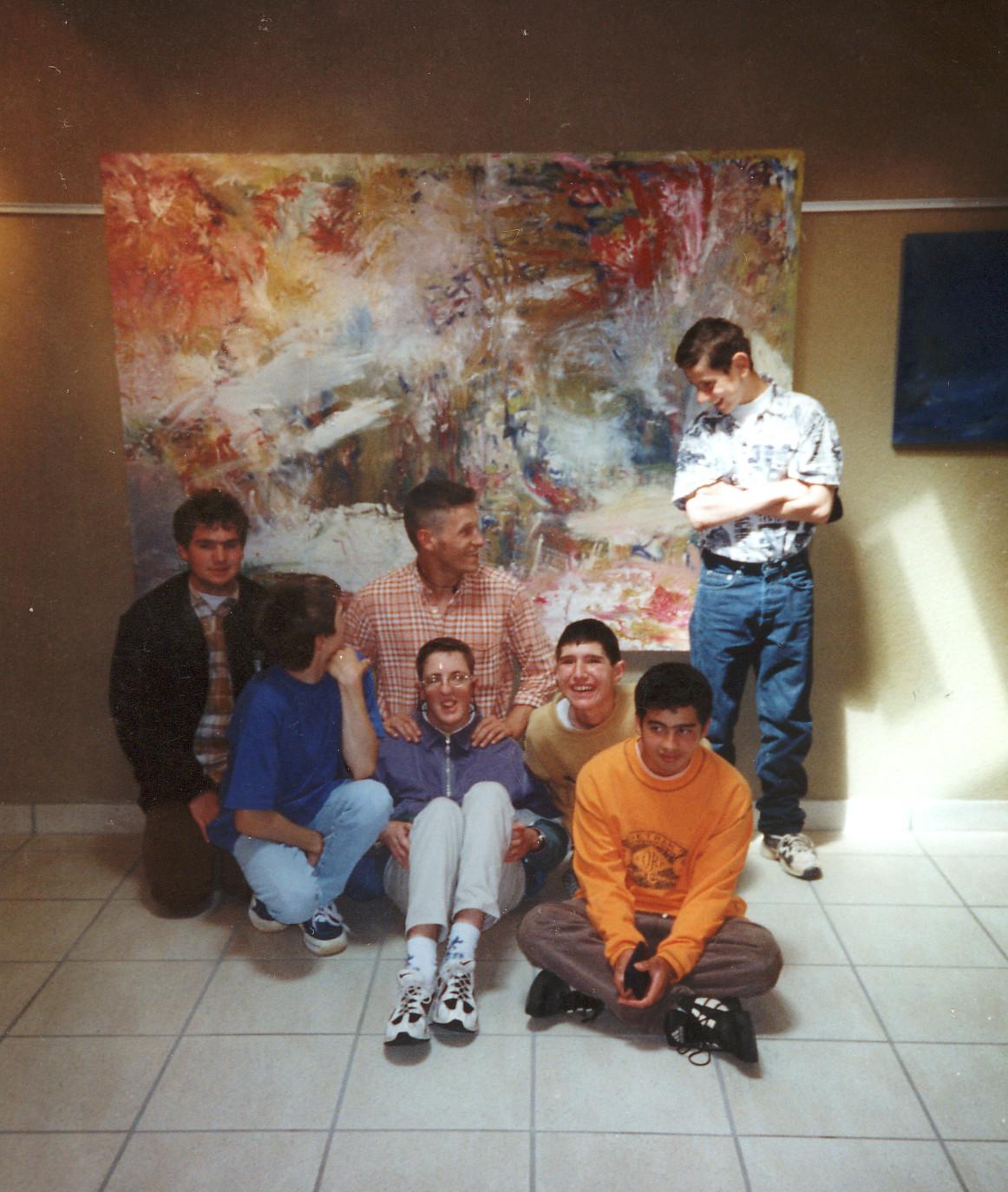 1998 IME LA ROQUETTE, Huile et Autisme