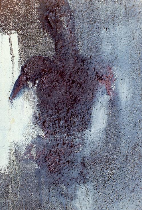 73 PEINTURE 1997, Huile sur toile, 35x27