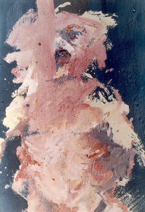 78 PEINTURE 1997, Huile sur toile, 73x50