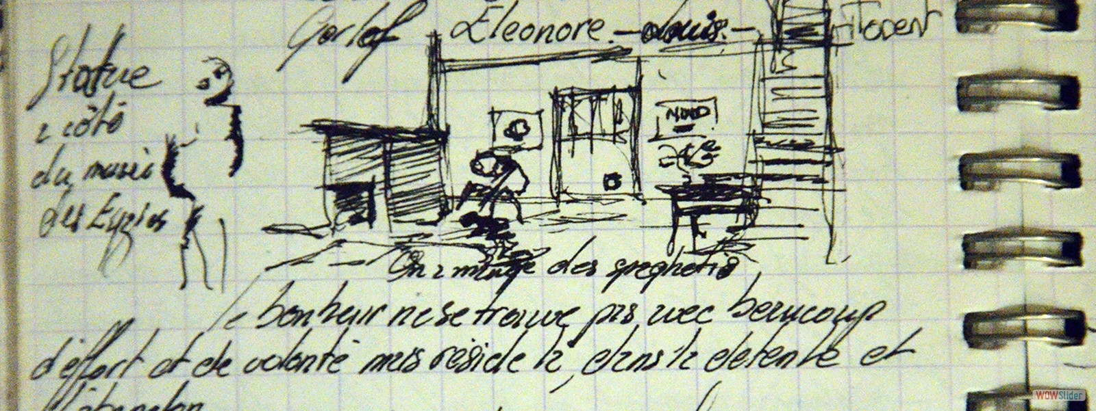 1993 LES EYZIES, chez Robert Filliou