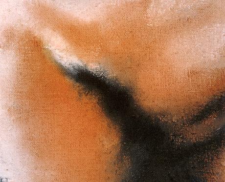 37 PEINTURE 1996, Huile sur toile, 27x32