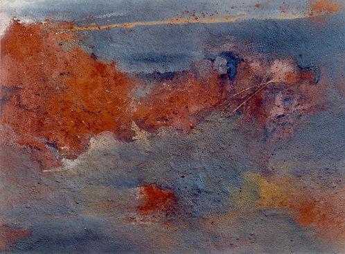 24 PEINTURE 1996, Huile sur toile, 70x100