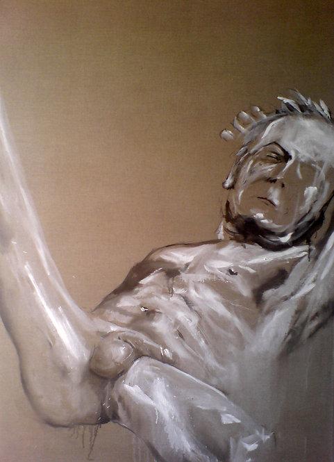 367 PEINTOMATON 2007, Huile sur toile, 200x125