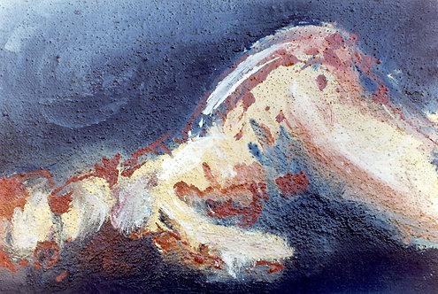 71 PEINTURE 1997, Huile sur toile, 34x24