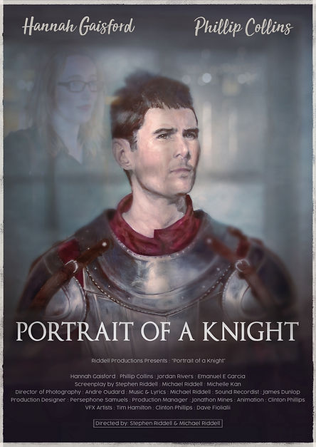 Portait of a Knight poster designed by Karl Jensen