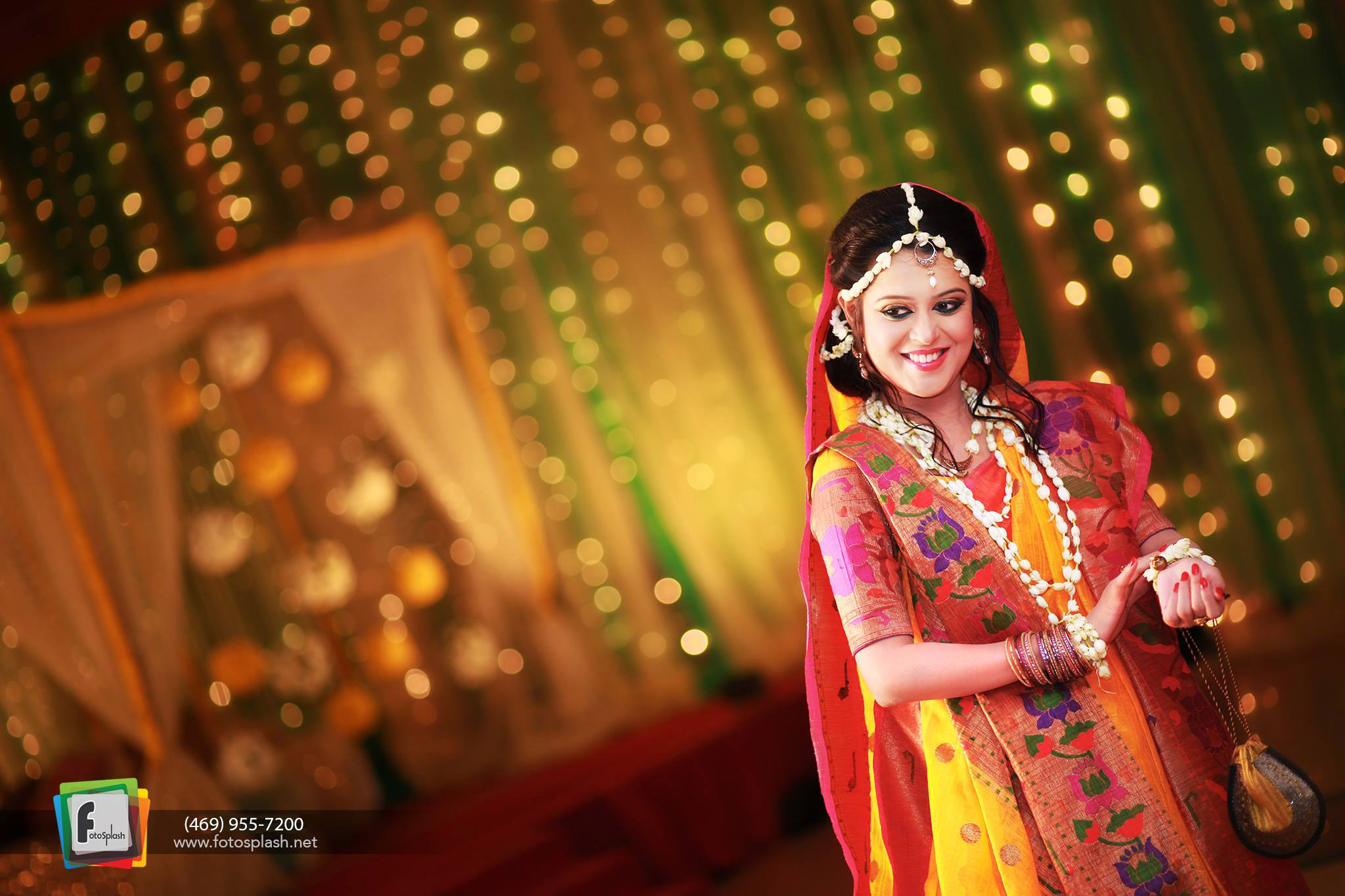 Vibrant Asian Wedding Photography