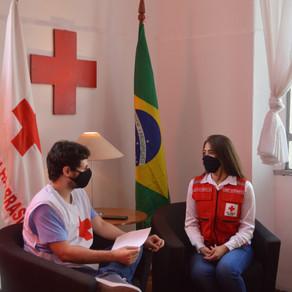 Bate-Papo com Agatha Brito, Chefe de Gabinete da Cruz Vermelha Brasileira
