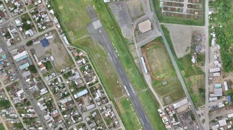 High accuracy using drones, in a 3500ha Urban Cadastre, Francisco de Orellana 2017