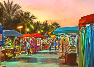 Boho souls of Dubai