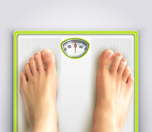 balance, perte de poids