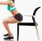 jambes exercices fesses
