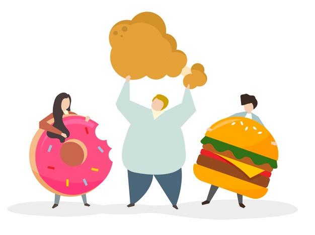 gras, alimentation