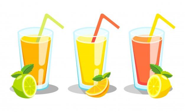 jus de fruits, sucre