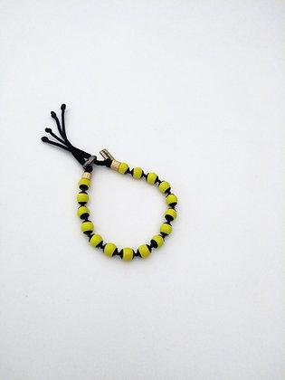 pulseira nômades amarela regulável