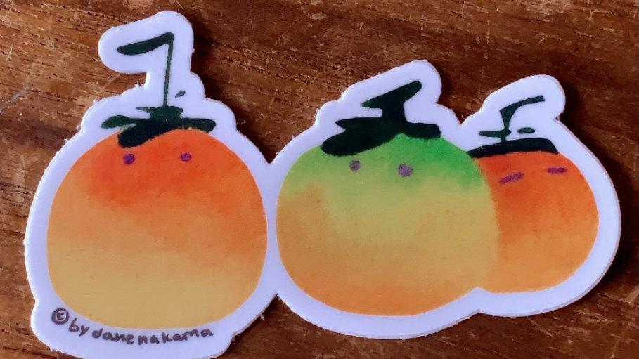 Persimmon Sticker