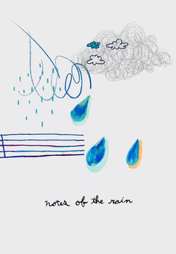 notes of the rain