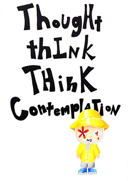 Thought Think Think Contemplation