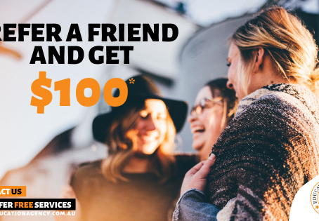 Refer a friend and get $100!