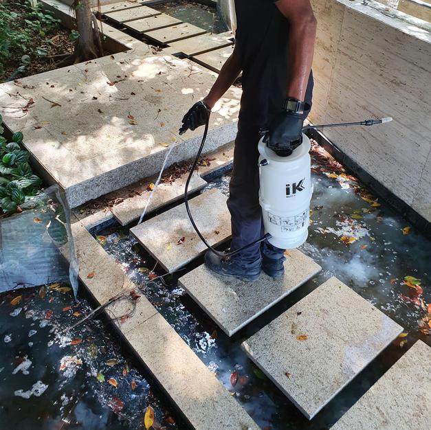 Mosquito Breeding Control