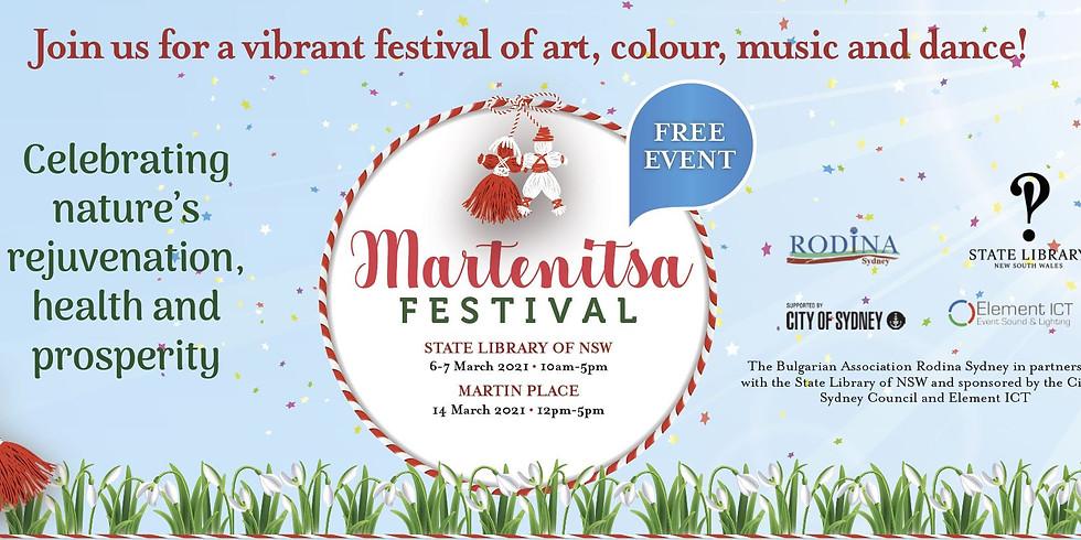 14th March Martenitsa Festival - Time Slot 2