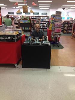 Marc Lindsay Author sign