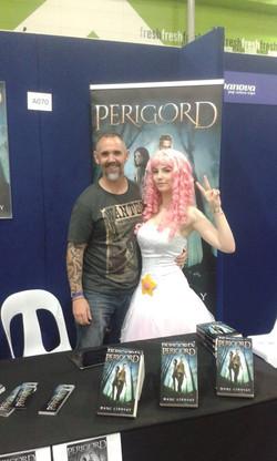 Marc Lindsay Author & cosplayer Tiff