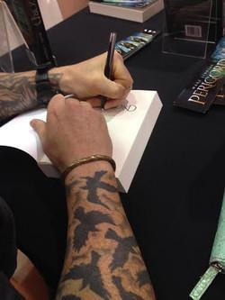 Marc Lindsay Author signing