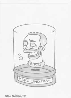 Marc Lindsay Author head