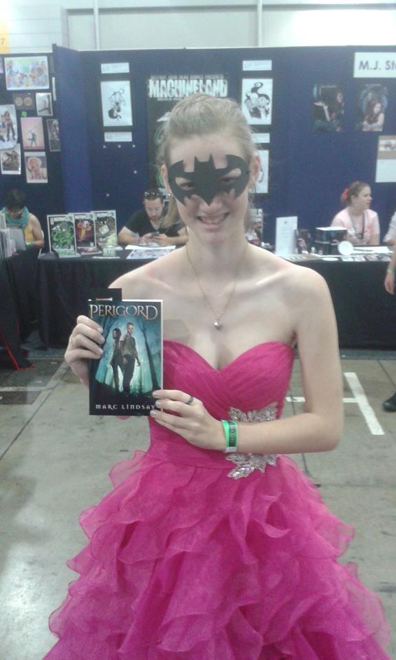 Marc Lindsay Author & girl