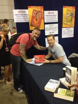Marc Lindsay Author M Reilly
