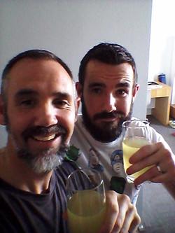 Marc Lindsay Author drink