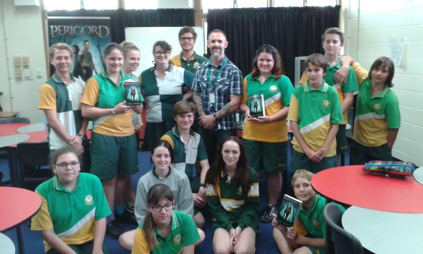 Marc Lindsay Author Thuringowa High