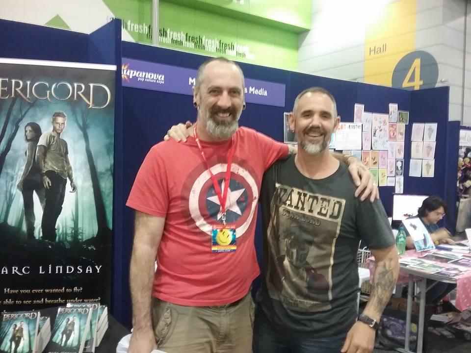 Marc Lindsay Author & Dean Rankine